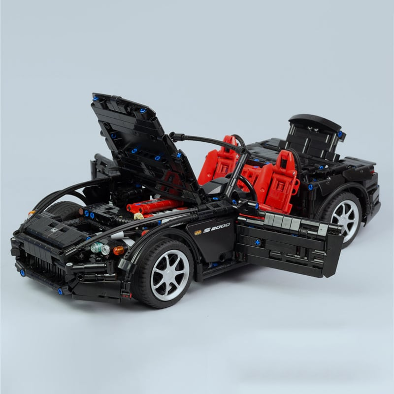 2019 NEW MOC Series Racing Car Honda S2000 AP2 MOC 24500 Compatible With Technic Racing Building 2 1 - MOC FACTORY