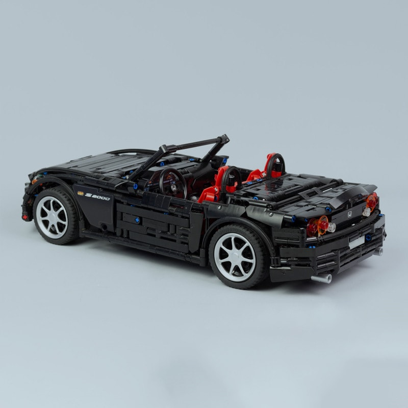 2019 NEW MOC Series Racing Car Honda S2000 AP2 MOC 24500 Compatible With Technic Racing Building 3 1 - MOC FACTORY