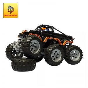 MOC 1244 Monster Truck 6x6 by Madoca1977 MOC FACTORY 1 - MOC FACTORY