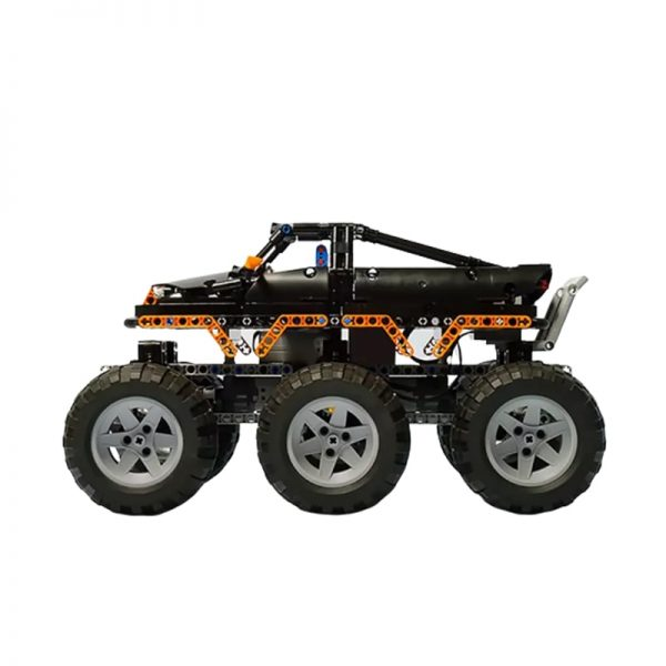 MOC 1244 Monster Truck 6x6 by Madoca1977 MOC FACTORY 4 1 - MOC FACTORY