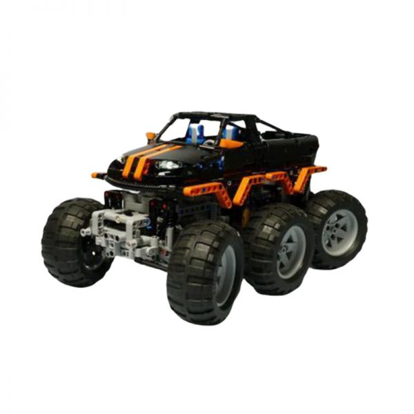 MOC 1244 Monster Truck 6x6 by Madoca1977 MOC FACTORY2 1 - MOC FACTORY