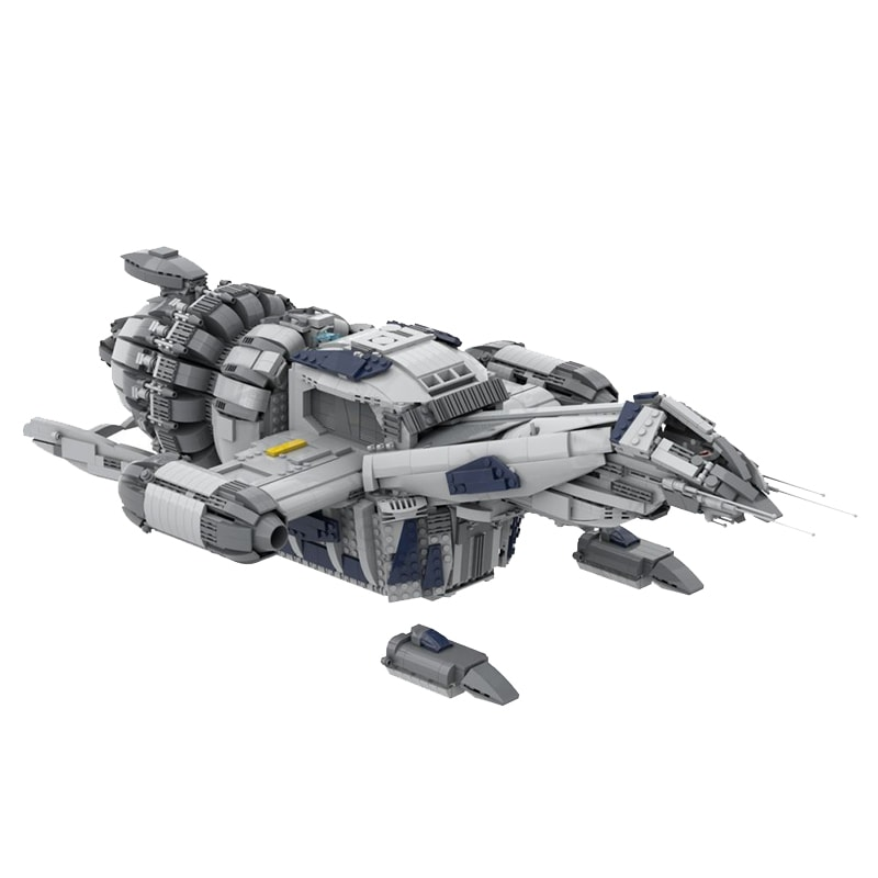 MOC 12777 FIREFLY SERENITY Space by Polyprojects MOC FACTORY 3 - MOC FACTORY