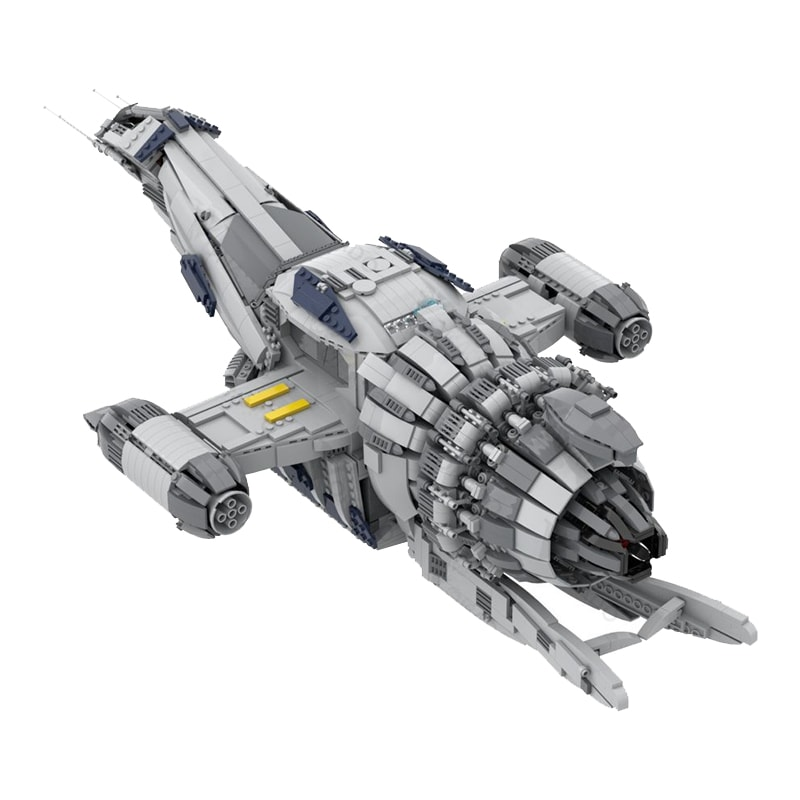 MOC 12777 FIREFLY SERENITY Space by Polyprojects MOC FACTORY 4 - MOC FACTORY
