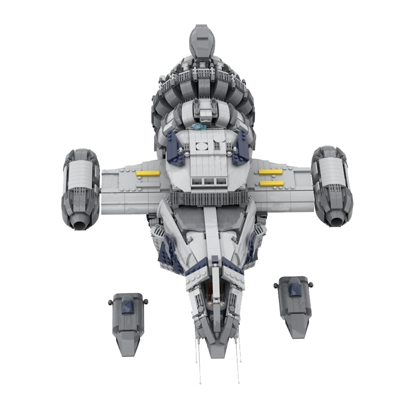MOC 12777 FIREFLY SERENITY Space by Polyprojects MOC FACTORY 5 - MOC FACTORY