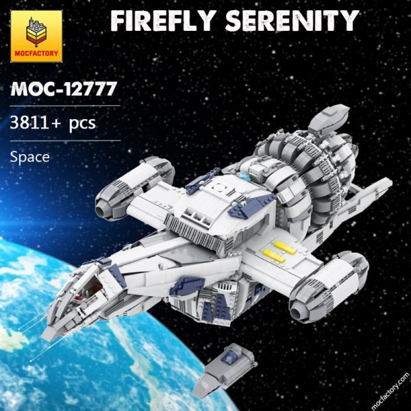 MOC 12777 FIREFLY SERENITY Space by Polyprojects MOC FACTORY - MOC FACTORY