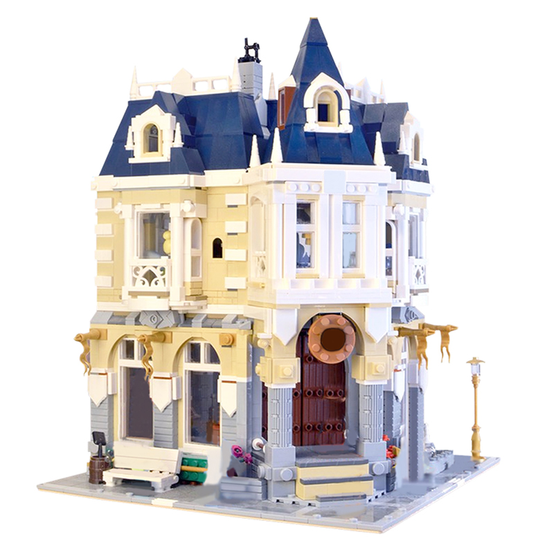 MOC 14603 The Costume Shop Alternative to 71040 Modular Building by BrickBees MOC FACTORY 2 - MOC FACTORY