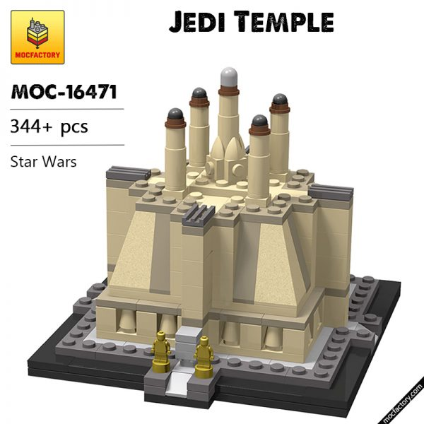 MOC 16471 Jedi Temple Star Wars by TOPACES MOC FACTORY - MOC FACTORY