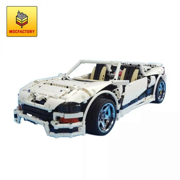 MOC 1892 Phantasm Twin Turbo White by Crowkillers MOC FACTORY - MOC FACTORY