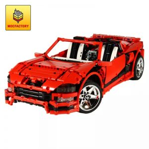 MOC 1893 Phantasm Twin Turbo Red by Crowkillers MOC FACTORY - MOC FACTORY