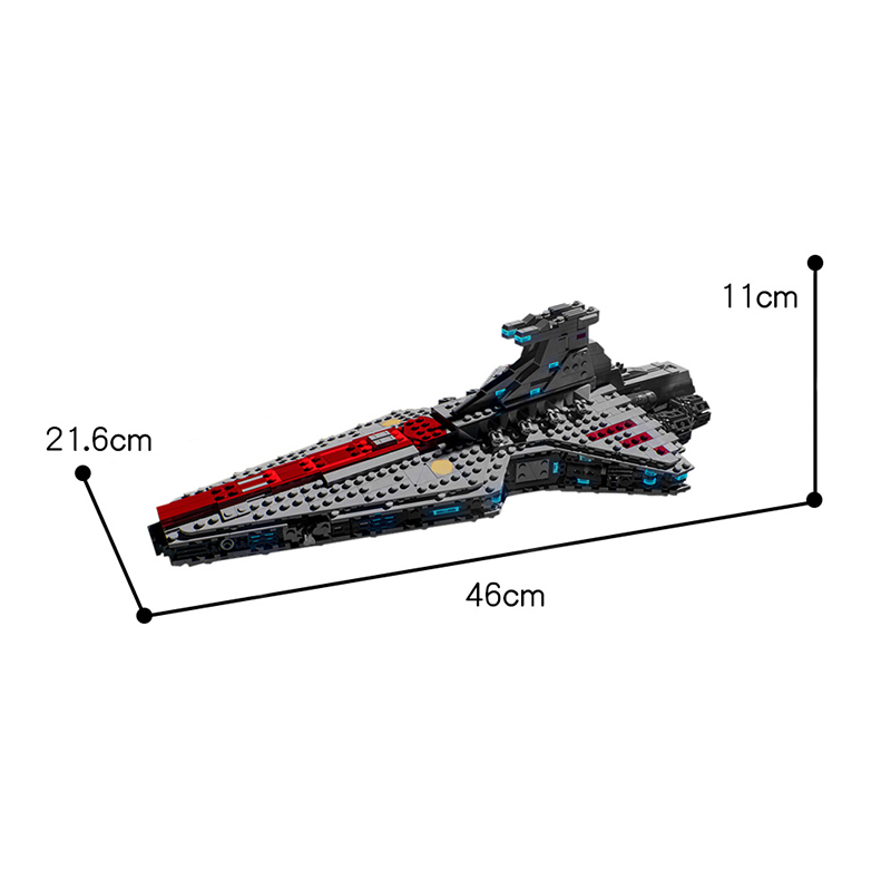 MOC 18951 Venator Class Republic Attack Cruiser Star Wars by KristofPucejdl MOC FACTORY 3 - MOC FACTORY
