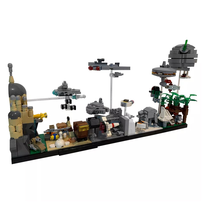 MOC 19493 Star Wars Skyline Architecture SW by MOMAtteo79 MOC FACTORY 2 - MOC FACTORY