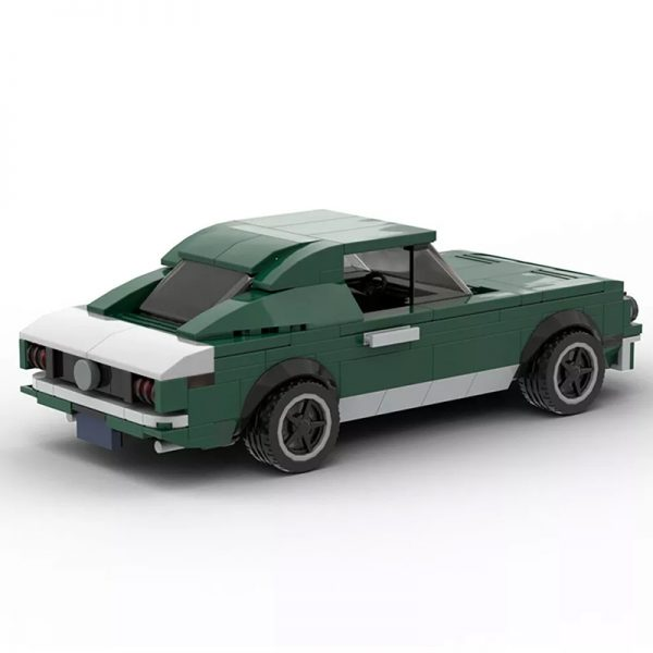 MOC 21388 Bullitt Mustang 1968 Ford Mustang Fastback Technic by mkibs MOC FACTORY 2 - MOC FACTORY