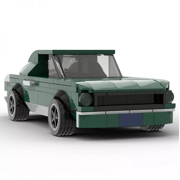 MOC 21388 Bullitt Mustang 1968 Ford Mustang Fastback Technic by mkibs MOC FACTORY 3 - MOC FACTORY
