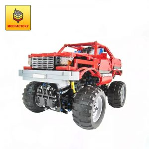MOC 2168 Monster Truck by Madoca1977 MOC FACTORY - MOC FACTORY
