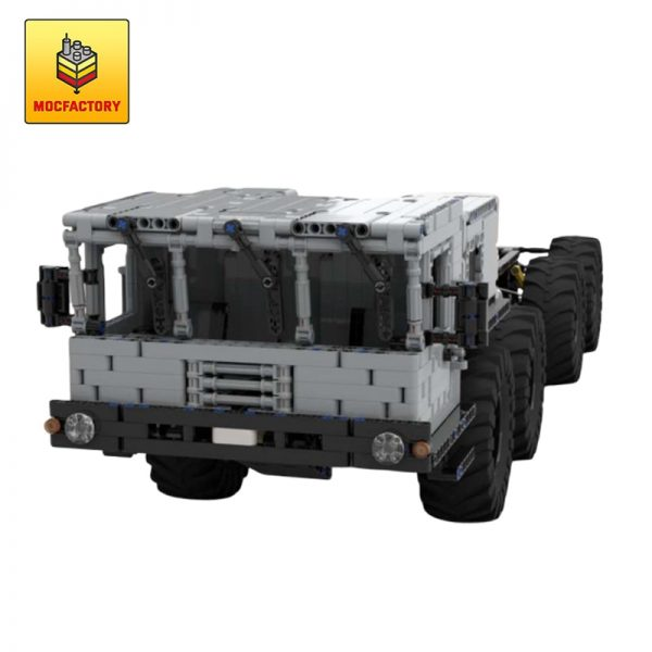 MOC 22149 MZKT 7930 Astrolog Russian army 8×8 transporter by TSmarf With RC Motor 4 1 - MOC FACTORY