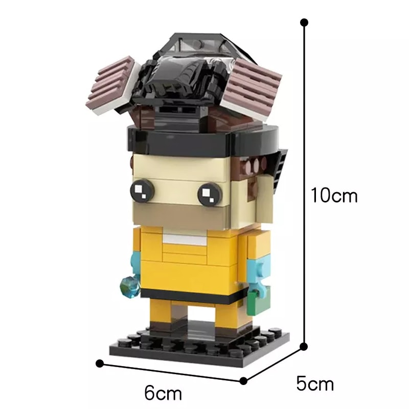MOC 22534 Breaking Bad Brickheadz Collection Walter White Jesse Pinkman Creator by mkibs MOC FACTORY 2 - MOC FACTORY