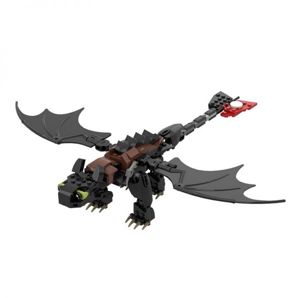 MOC 23064 Toothless How to Train Your Dragon Movie by buildbetterbricks MOC FACTORY 2 - MOC FACTORY