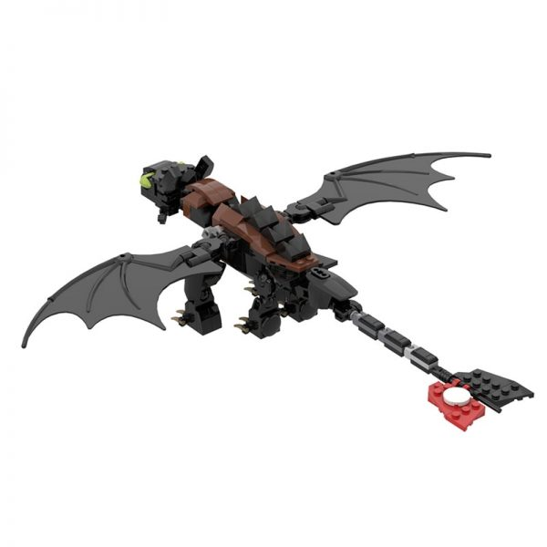 MOC 23064 Toothless How to Train Your Dragon Movie by buildbetterbricks MOC FACTORY 3 - MOC FACTORY