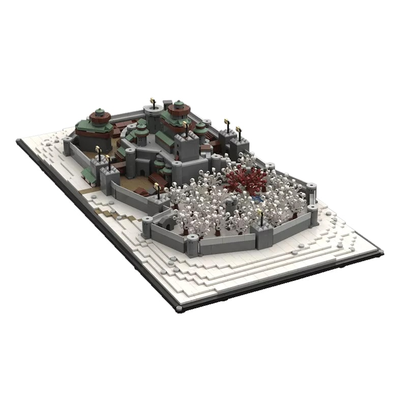 MOC 25236 Winterfell Game of Thrones Movie by EthanBrossard MOC FACTORY 2 - MOC FACTORY