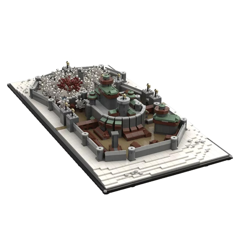 MOC 25236 Winterfell Game of Thrones Movie by EthanBrossard MOC FACTORY 3 - MOC FACTORY