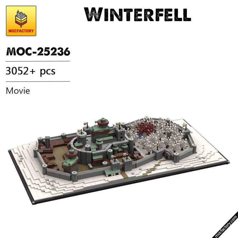 MOC 25236 Winterfell Game of Thrones Movie by EthanBrossard MOC FACTORY - MOC FACTORY