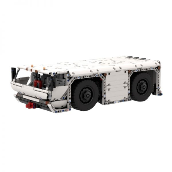 MOC 26069 Aircraft Pushback Tractor by Steelman14a MOC FACTORY 1 - MOC FACTORY