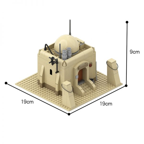 MOC 26468 Tatooine Single House Building TAT01 Star Wars by azzer86 MOC FACTORY 2 - MOC FACTORY
