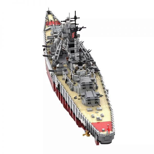 MOC 29408 Bismarck Battle Ship Designer rad0lf 2 - MOC FACTORY