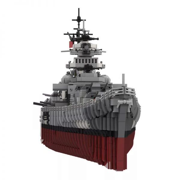 MOC 29408 Bismarck Battle Ship Designer rad0lf 3 - MOC FACTORY