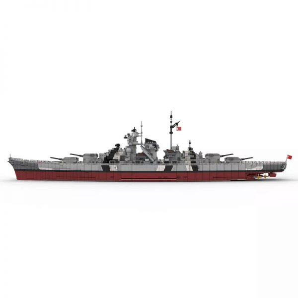 MOC 29408 Bismarck Battle Ship Designer rad0lf 4 - MOC FACTORY