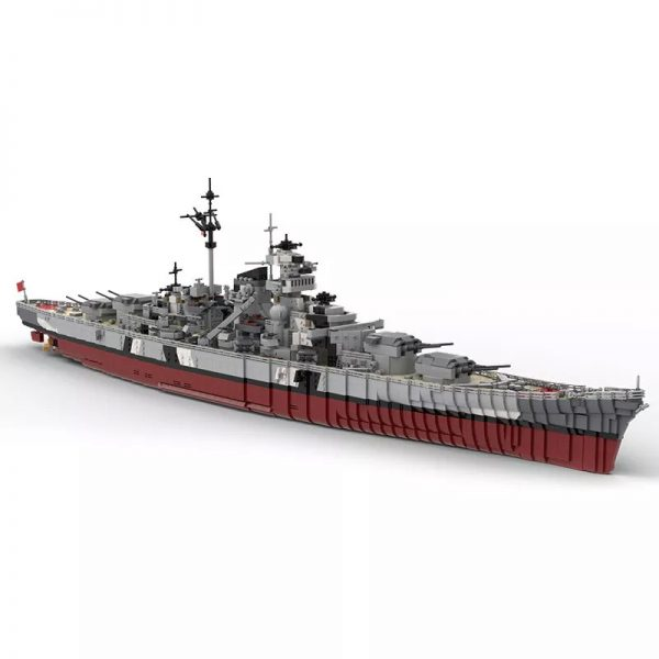 MOC 29408 Bismarck Battle Ship Designer rad0lf - MOC FACTORY