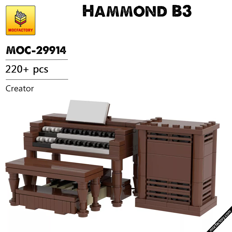 MOC 29914 Hammond B3 Creator by TOPACES MOC FACTORY - MOC FACTORY