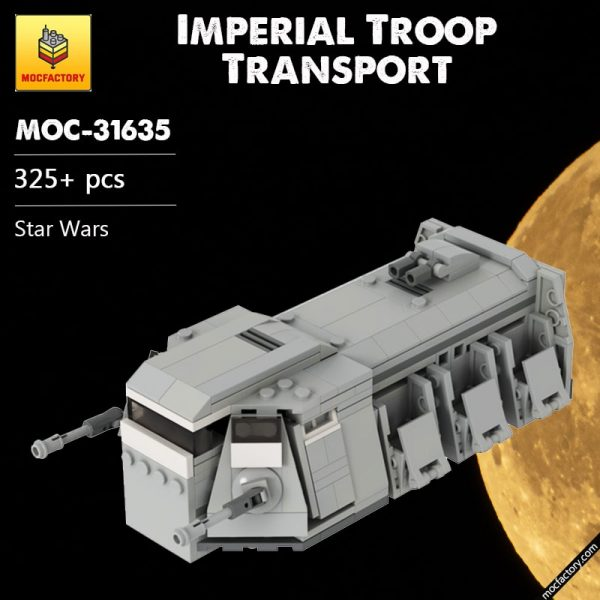 MOC 31635 Imperial Troop Transport Star Wars by GamerBambii MOC FACTORY 1 - MOC FACTORY