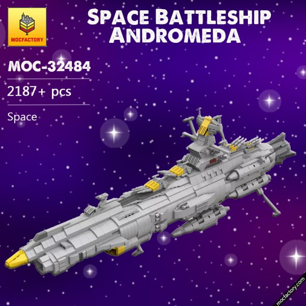 MOC 32484 Space Battleship Andromeda Space by apenello MOC FACTORY 7 - MOC FACTORY