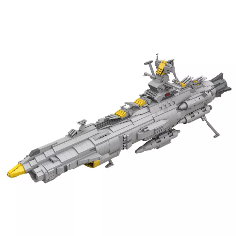 MOC 32484 Space Battleship Andromeda Space by apenello MOC FACTORY - MOC FACTORY