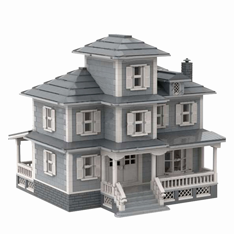 MOC 34209 Country House Modular Building by jepaz MOC FACTORY 2 - MOC FACTORY