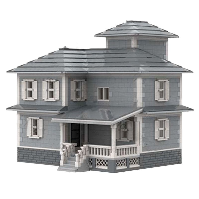 MOC 34209 Country House Modular Building by jepaz MOC FACTORY 3 - MOC FACTORY