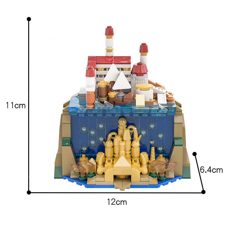 MOC 34801 The Little Mermaid Movie by benbuildslego MOC FACTORY 2 - MOC FACTORY