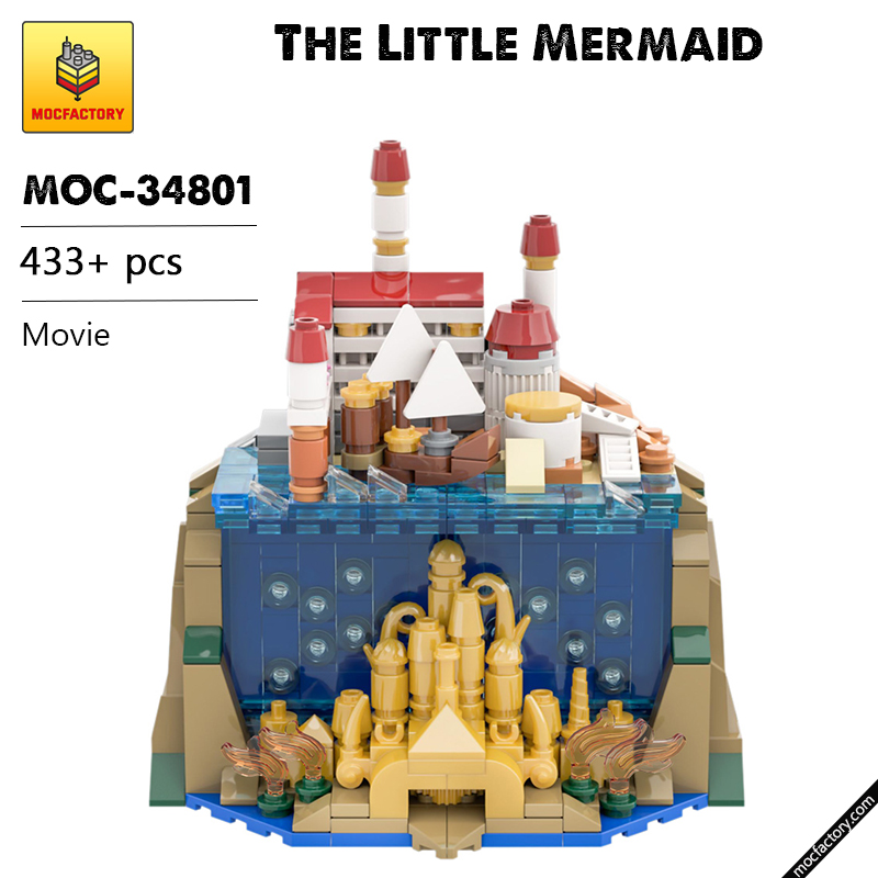 MOC 34801 The Little Mermaid Movie by benbuildslego MOC FACTORY - MOC FACTORY