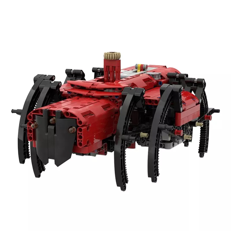 MOC 35822 Mechanical spider 42082 model C with PF Creator by Kartmen MOC FACTORY 2 - MOC FACTORY