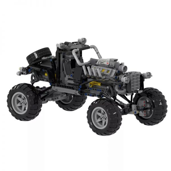 MOC 38641 Mad Max Fury Road sort of looking Vehicle Movie by Joebot360 MOC FACTORY 2 - MOC FACTORY