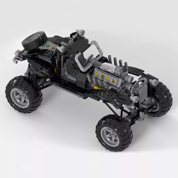 MOC 38641 Mad Max Fury Road sort of looking Vehicle Movie by Joebot360 MOC FACTORY 4 - MOC FACTORY