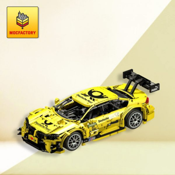 MOC 4142 BMW M4 DTM Post RC by Thorsten50 - MOC FACTORY