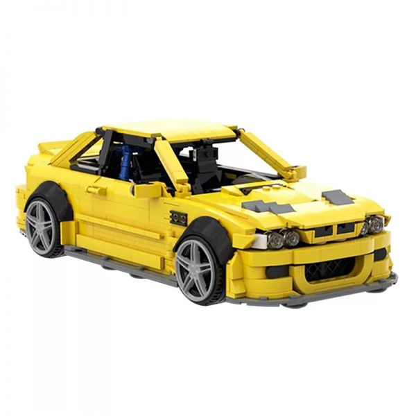 MOC 45363 BMW E46 M3 GTR Super Car by QuattroBricks MOC FACTORY 3 - MOC FACTORY