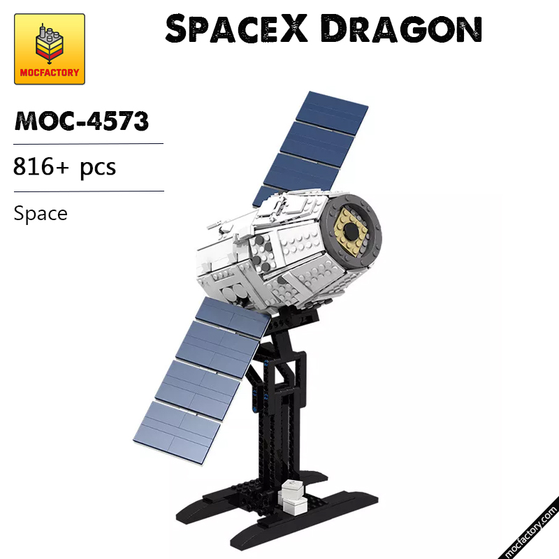 MOC 4573 SpaceX Dragon Space by Perijove MOC FACTORY - MOC FACTORY