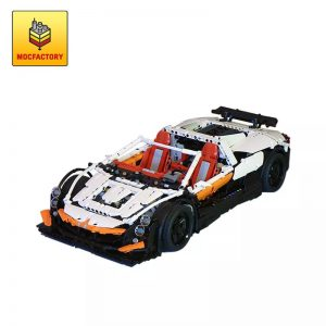 MOC 4687 Updated Simple Supercar by Lipko MOC FACTORY - MOC FACTORY