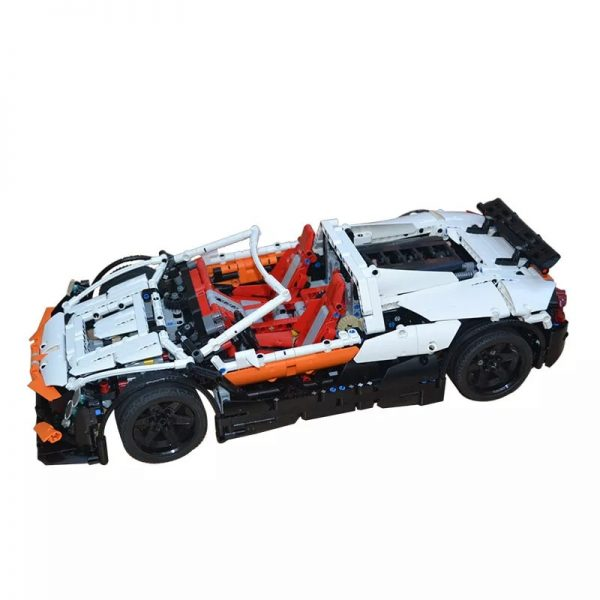 MOC 4687 Updated Simple Supercar by Lipko MOC FACTORY2 - MOC FACTORY