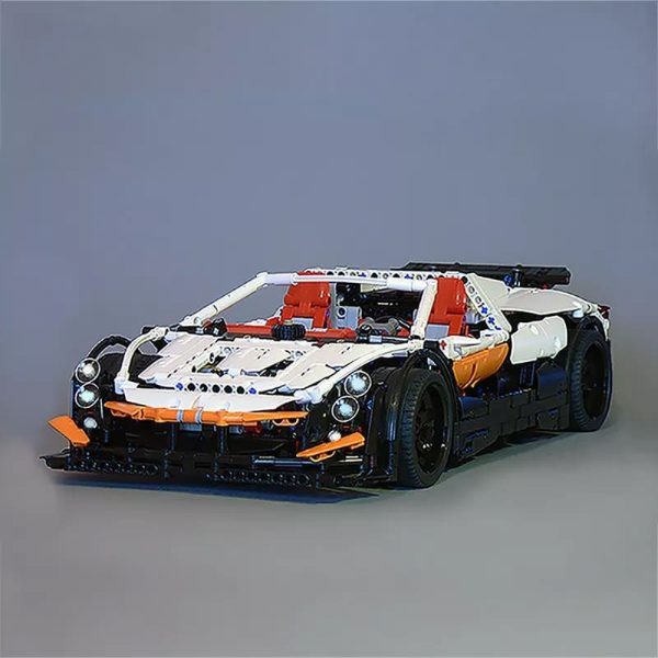 MOC 4687 Updated Simple Supercar by Lipko MOC FACTORY3 - MOC FACTORY