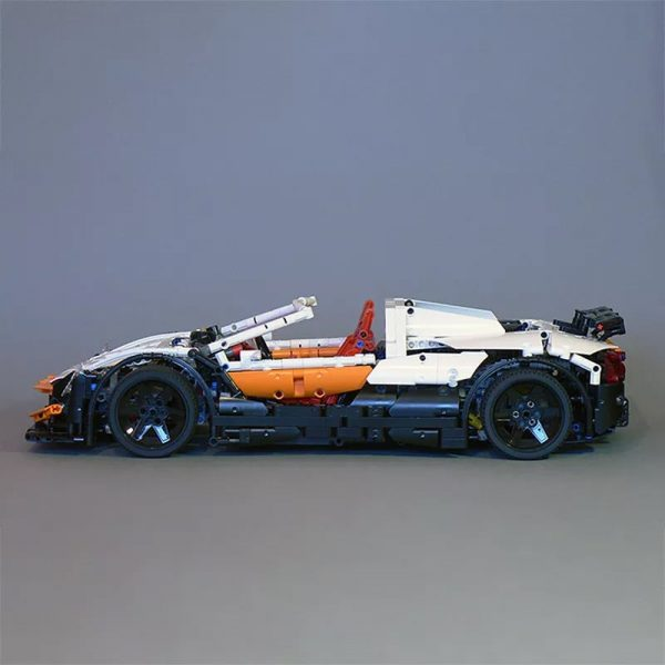 MOC 4687 Updated Simple Supercar by Lipko MOC FACTORY4 - MOC FACTORY
