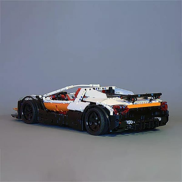 MOC 4687 Updated Simple Supercar by Lipko MOC FACTORY5 - MOC FACTORY